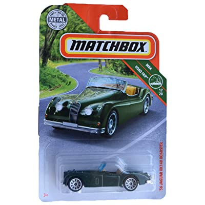 Matchbox '56 Jaguar XK140 Roadster 17/20, Dark Green: Toys & Games