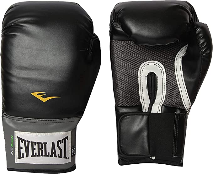 Open Box Details about  /Everlast Pro Style Training Boxing Gloves Size 16 Ounces Black