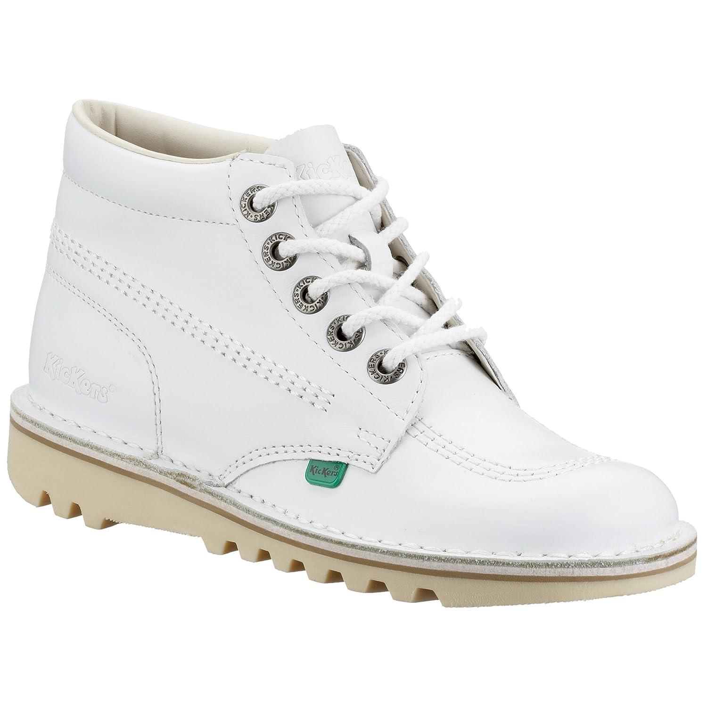 Kickers Kick Hi W Core - Botines para mujer Blanco (White/Natural)