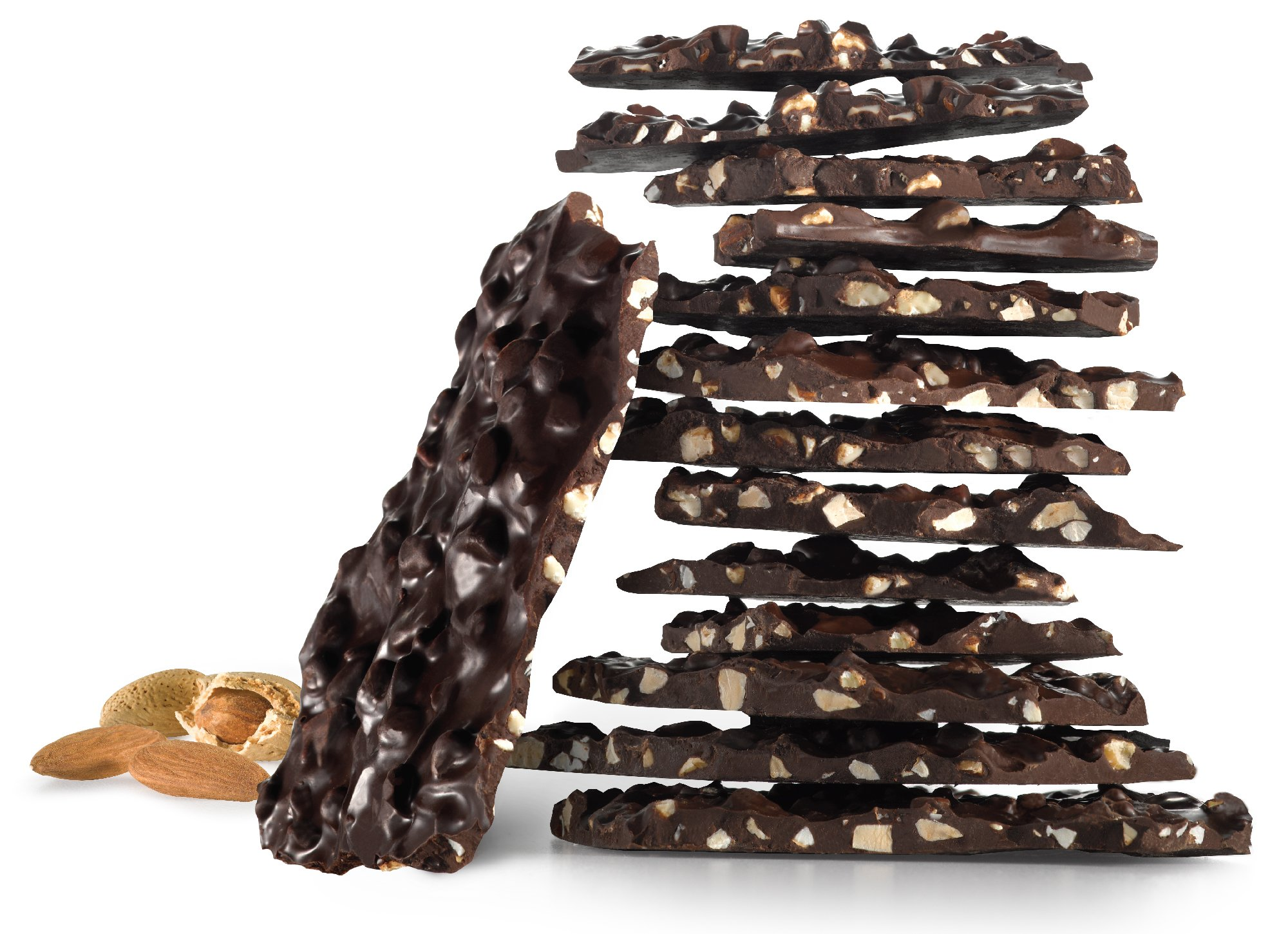 barkTHINS Snacking Dark Chocolate, Almond with Sea Salt, 4.7 Ounce by barkTHINS (Image #3)