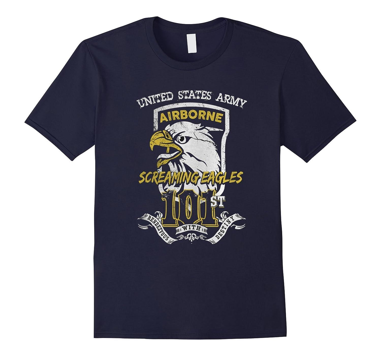 101st Airborne Division Screaming Eagles Tshirt-Art