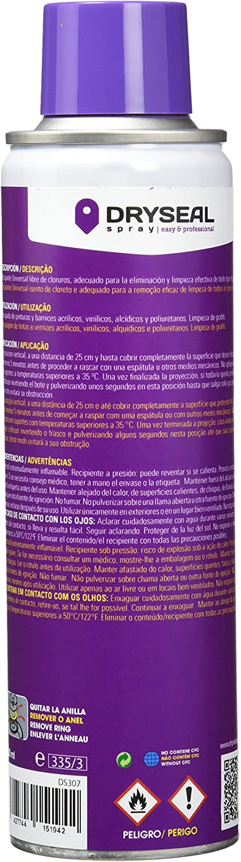 DRYSEAL DS307 Antideslizante , Transparente, 250 ml