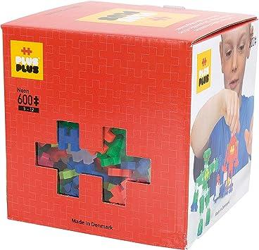 Plus-Plus - Juego de construcción para niños de 600 piezas , color/modelo surtido: Amazon.es: Juguetes y juegos