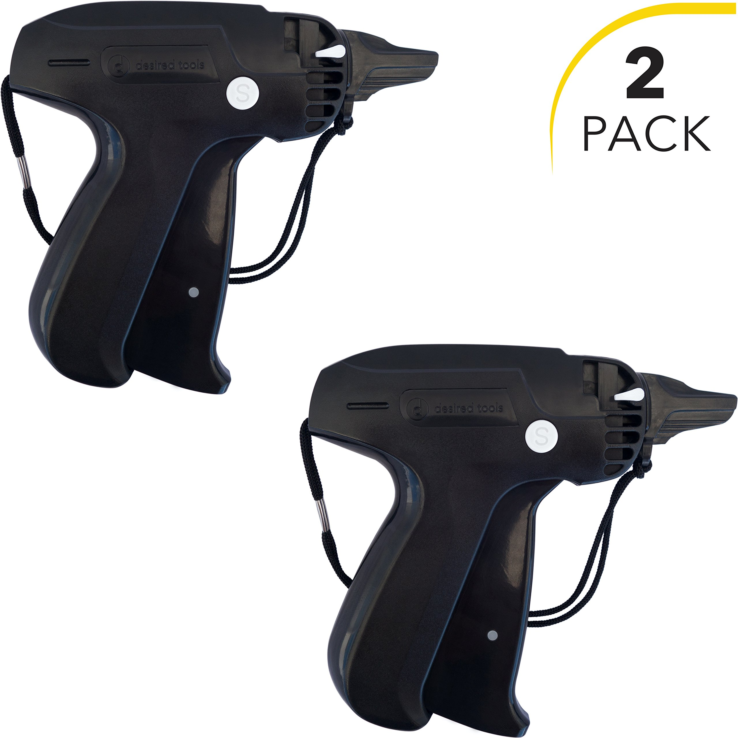Clothes Tagging Gun Set (2 Pack) by desired tools: Handheld Security and Pricing