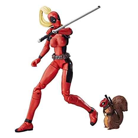 358f2ac53b0 Amazon.com: Marvel Legends Series 3.75-in Lady Deadpool: Toys & Games