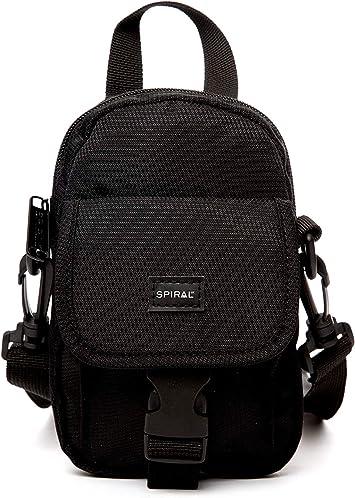 Spiral Tech Pack - Black Riñonera de Marcha 18 Centimeters 1 Negro (Black): Amazon.es: Equipaje