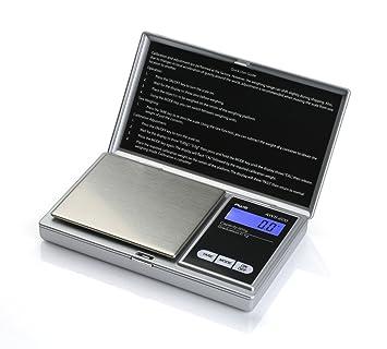 American Weigh Scales AWS-600 Báscula electrónica de cocina Plata - Báscula de cocina (