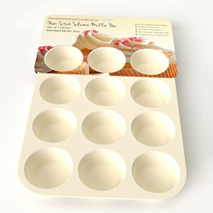 Buy silicone muffin pan 12 cup nonstick silicone cupcake tin like silicone muffin pan 12 cup nonstick silicone cupcake tin like recommended on food network forumfinder Image collections