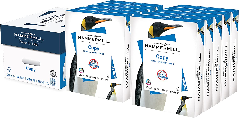 Hammermill Printer Paper 20 Super Special SALE held lb shipfree Copy - 11 10 Ream x 8.5