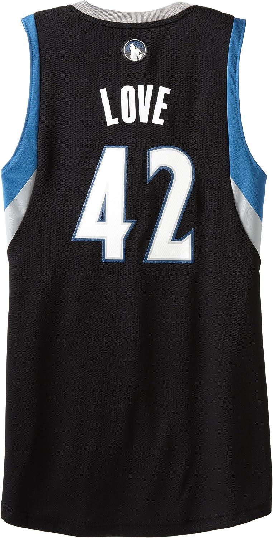 adidas NBA Minnesota Timberwolves de Color Negro Jersey Kevin Love # 42, Hombre, Minnesota Timberwolves: Amazon.es: Deportes y aire libre
