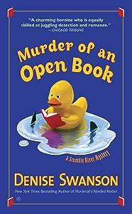 Murder of An Open Book (Scumble River Mysteries 18)
