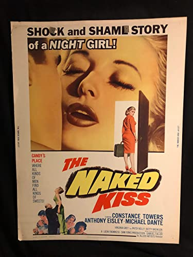 The Naked Kiss 1964 Original Vintage 30x40 Movie Poster Noir Constance Towers Sam Fuller Anthony Eisley At Amazon S Entertainment Collectibles Store