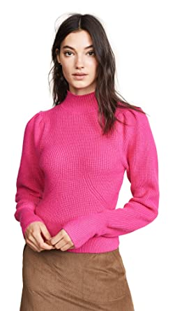 2f122605437c ASTR the Label Women s Puff Sleeve Sweater