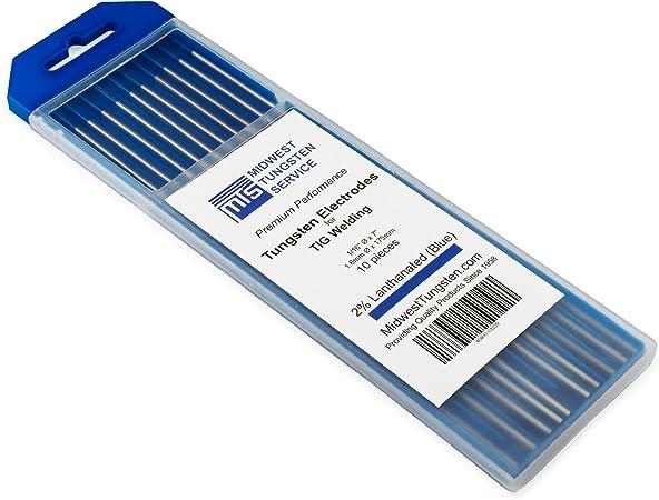 Amazon.com: TIG Soldadura de electrodos de tungsteno ...
