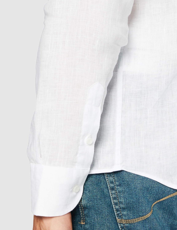 La Martina Camicia Casual Uomo Bianco (Optic White 00001)