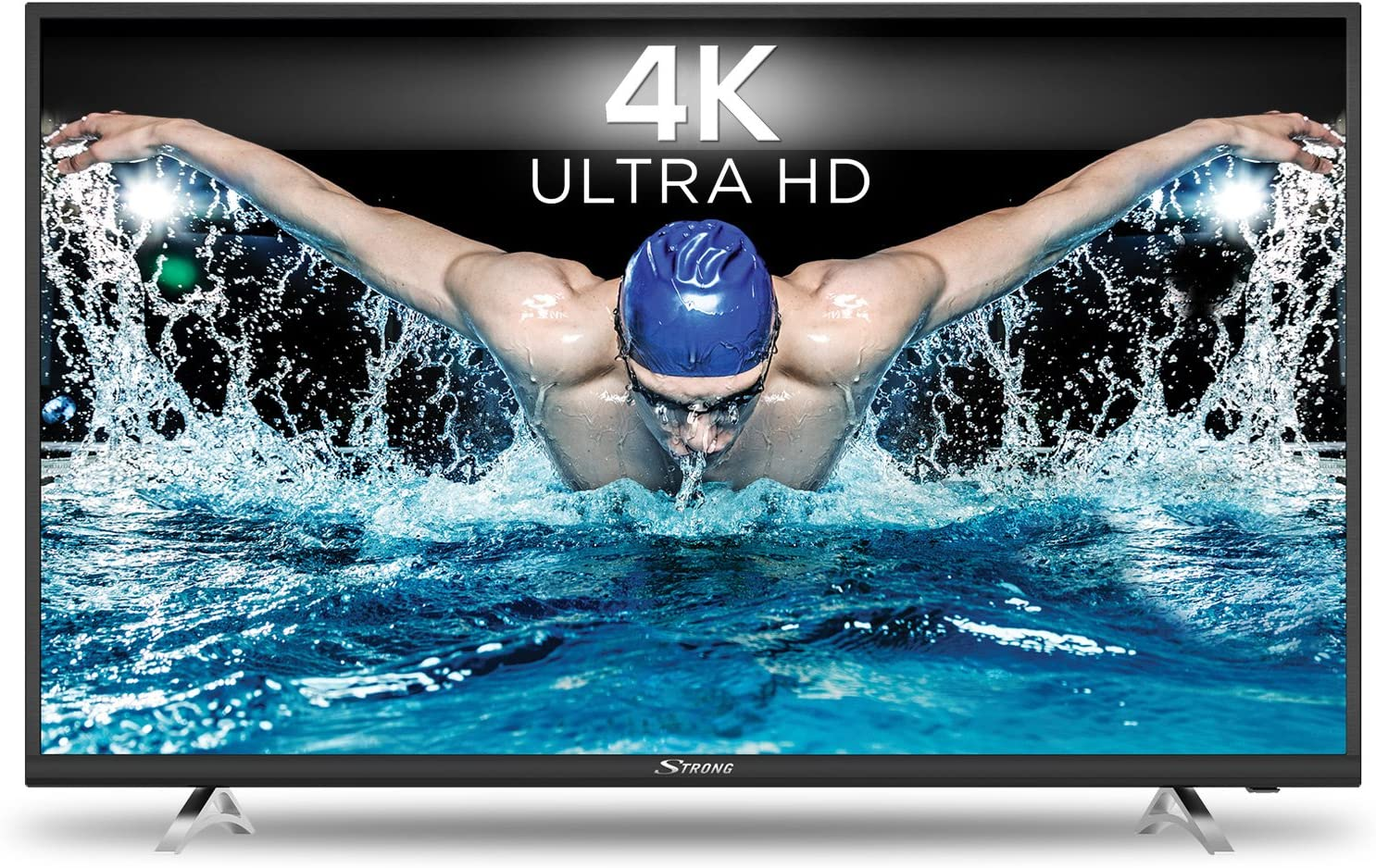 STRONG SRT 55UA6203 UHD Smart TV HDR – 4K Televisores LED 55 Pulgadas, 139 cm (Netflix, Youtube) Negro: Amazon.es: Electrónica