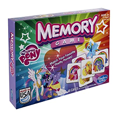 Hasbro My Little Pony Memory Game: Toys & Games
