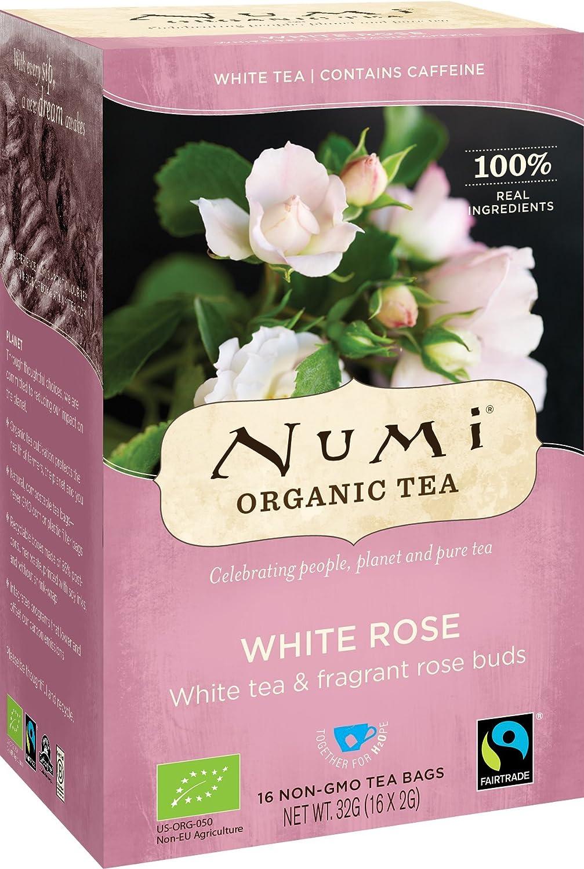NUMI - Té Natural Rosa Blanca - Té Blanco con Papilas ...