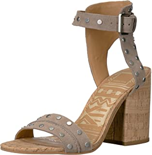 fa061673e5de Amazon.com  Dolce Vita Women s Eddie Heeled Sandal  Shoes