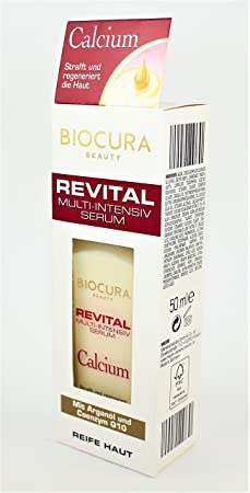 biocura Beauty revital Multi de Intensivo Serum con arganöl y coenzym Q10 50 ml: Amazon.es: Belleza