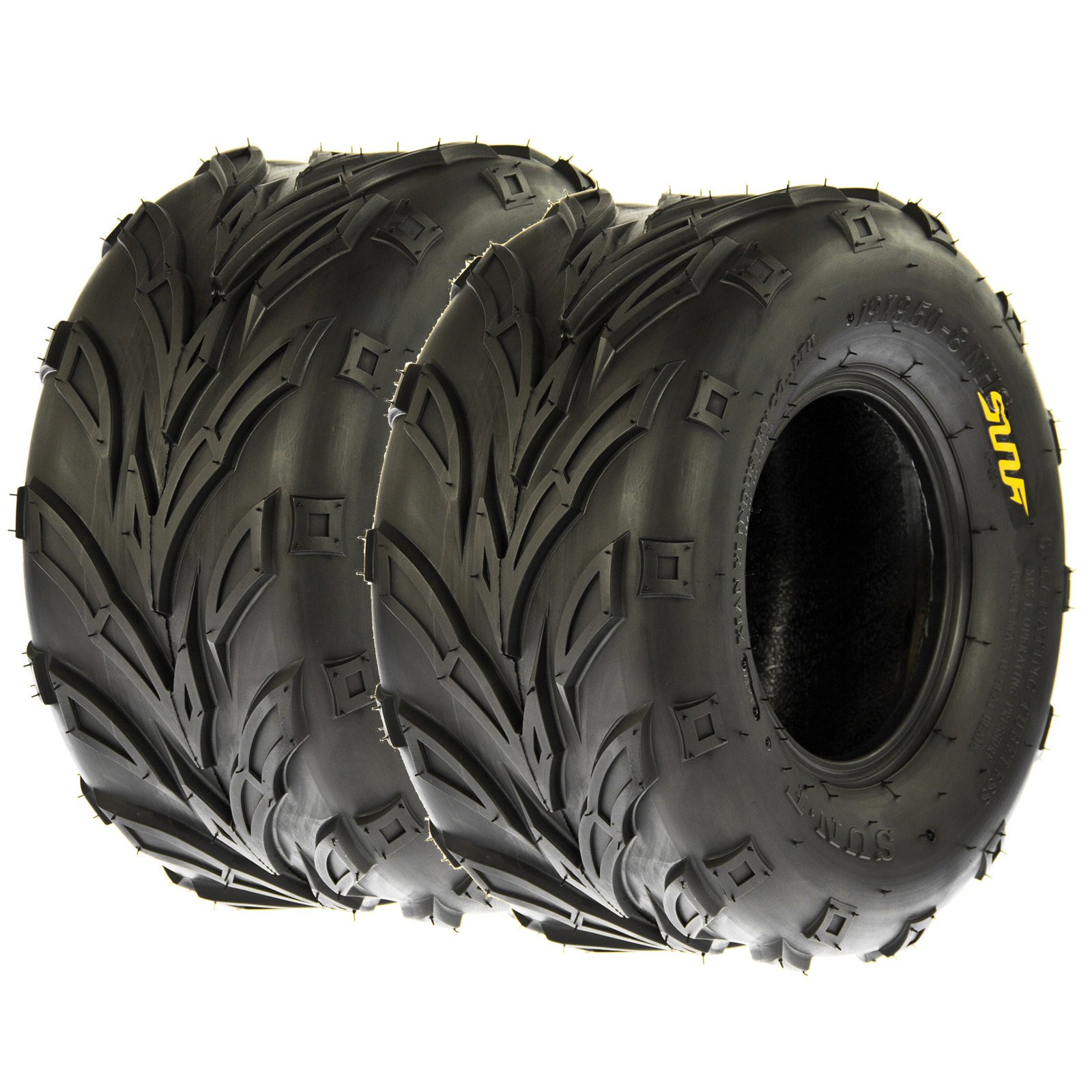 Set of 2 SunF A004 ATV Tire 22x10-10, 4 Ply