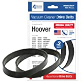 4YourHome Drive Belts For Hoover Turbo Power 2 & 3 Series Vacuum Cleaners - 2PK