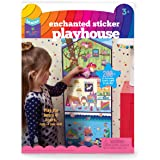 Craft-tastic Jr – Enchanted Sticker Playhouse Scene – Includes 200+ Repositionable & Restickable Stickers for Hours of…