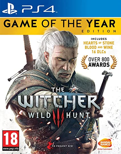 Buy The Witcher 3: Wild Hunt - Game of the Year Edition (PS4