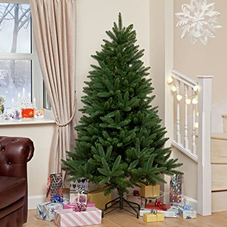 a8bfa4cbdde7 Snowtime 7.5ft Louise Fir Green Instant Shape Premium PE Christmas Tree:  Amazon.co.uk: Kitchen & Home