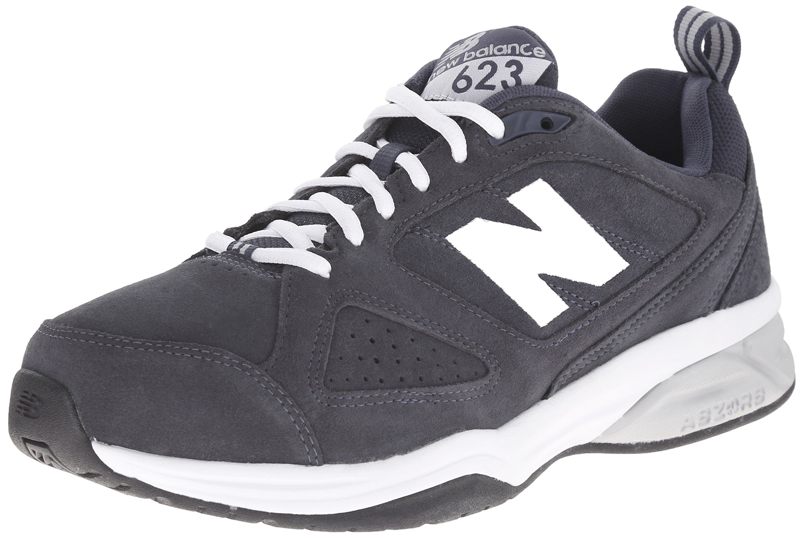 New Balance Men's MX623v3 Training Shoe, Navy, 11.5 D US
