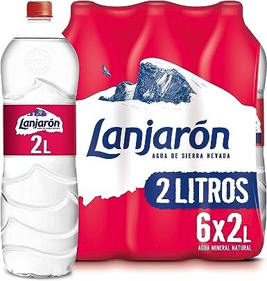 Agua Mineral Natural Lanjaron 2L X 6: Amazon.es: Alimentación y bebidas