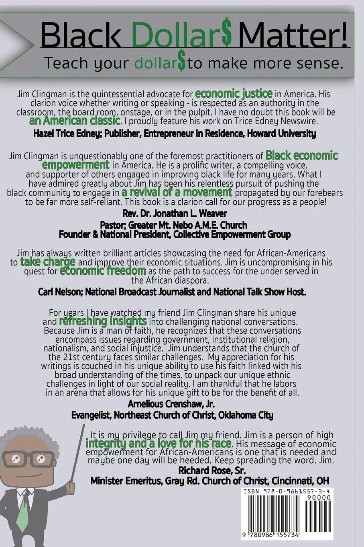 Making Sense Of African American >> Black Dollar Matter Teach Your Dollars How To Make Sense James