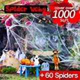 Begleri Spider Web Halloween Decorations - Cobweb