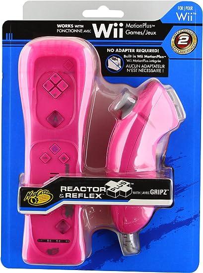 Mad Catz - Pack Reactor Pls Reflex (Mando + Nunchuk), Color Rosa ...