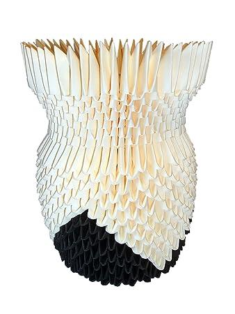 3d Origami Vase Amazon Kitchen Home