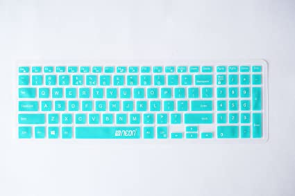 Neon Keyboard Skin for Dell Inspiron Series (Tiffany Blue)
