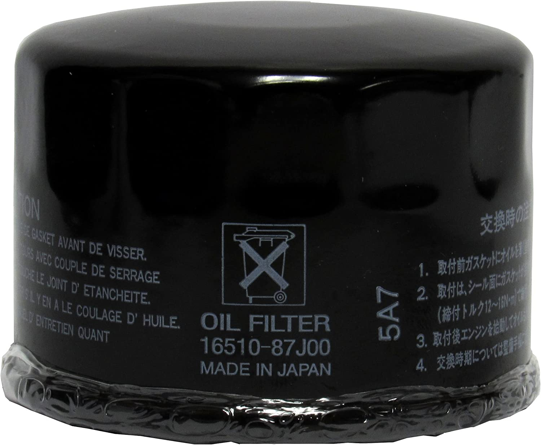 OEM Genuine Suzuki Oil Filter for DF 25, 30, 40, 50, 60, 70 Outboard 16510-87J00