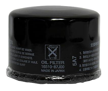Amazon.com: OEM Genuine Suzuki Oil Filter for DF 25, 30, 40, 50, 60 ...
