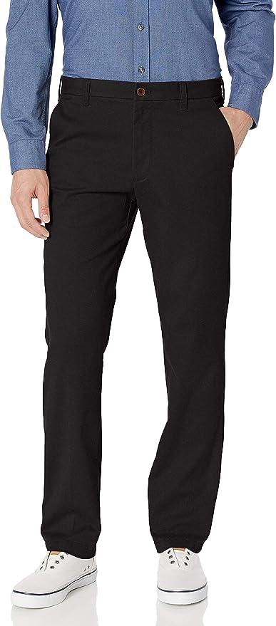IZOD Men/'s Performance Stretch Straight Dress Pant Charcoal, 34W x 29L