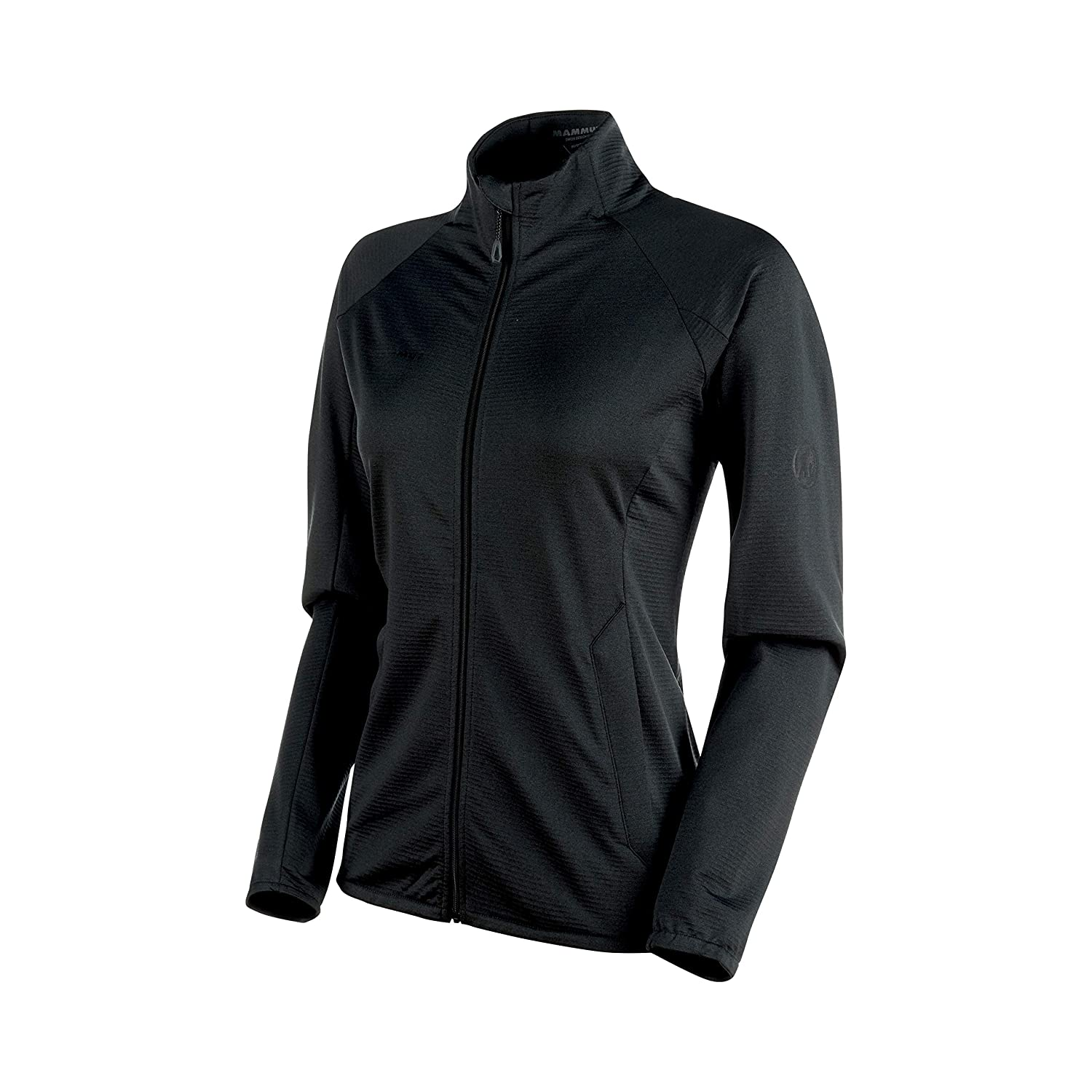 Black Melange Mammut  Women's Nair Midlayer Jacket