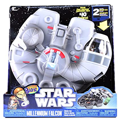 Amazon.com: Mighty Beanz Star Wars Millenium Falcon: Toys ...