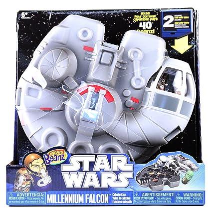 Amazon.com: Mighty Beanz Star Wars Millenium Falcon: Toys ...