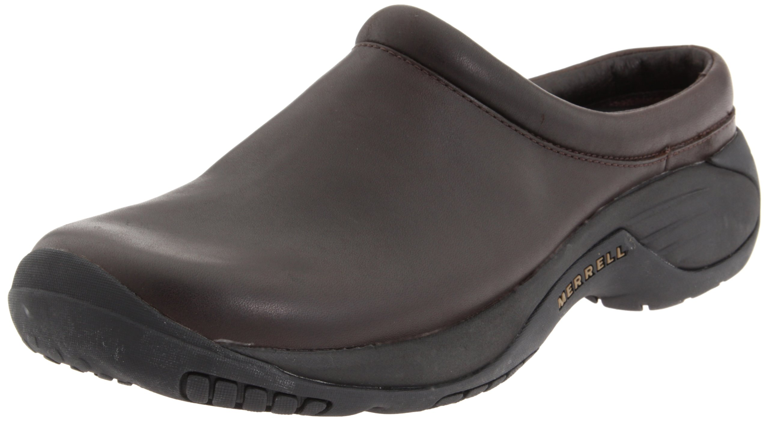 Merrell Men's Encore Gust Slip-On Shoe,Smooth Bug Brown Leather,10.5 M US
