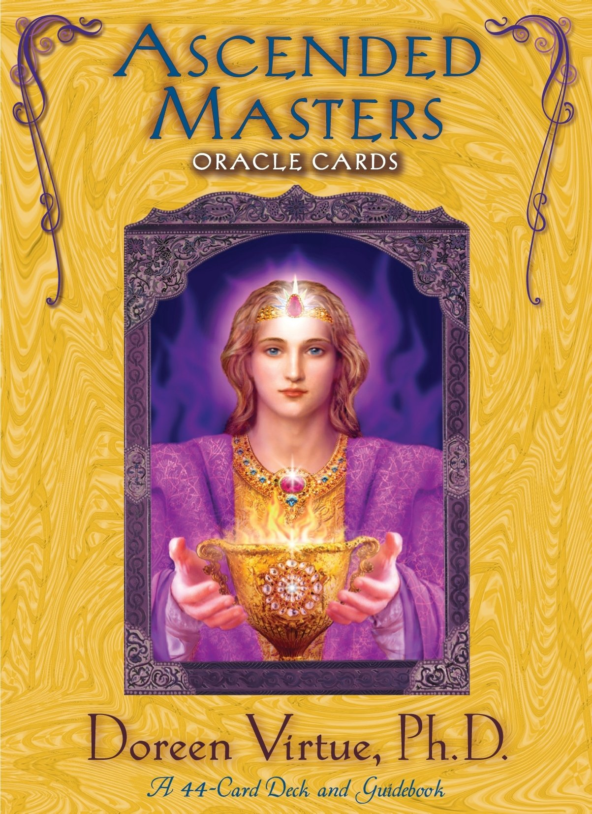 Ascended Masters Oracle Cards: 44-Card Deck and guidebook by Hay House