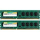 Silicon Power DDR3 16GB (2 x 8GB) 1600MHz (PC3 12800) 240-pin CL11 1.35V Unbuffered UDIMM PC Computer Desktop Memory…