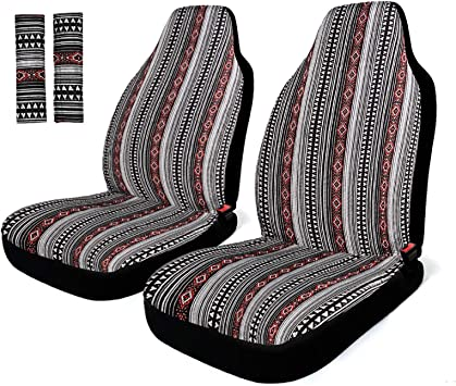 Car Truck Bench Seat Cover Protector Saddle Blanket Universal Fit 1 Piece Gray