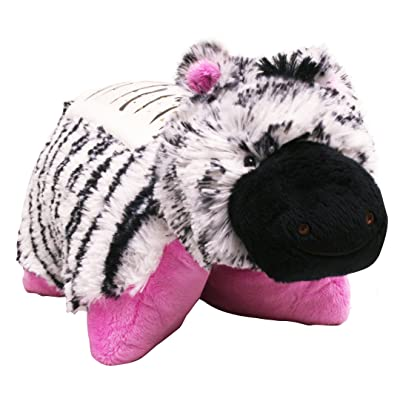 "Pillow Pets Dream Lites Stuffed Animals - Zippity Zebra 11"" : Childrens Light Makers : Baby"