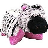 "Pillow Pets Dream Lites Stuffed Animals - Zippity Zebra 11"""