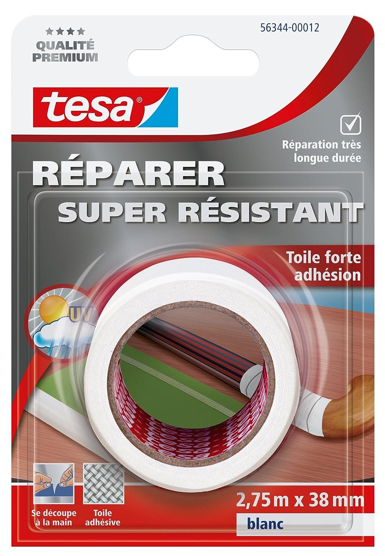Tesa Super Strength Repair Tape - Strong Adhesion, grey 4042448132161