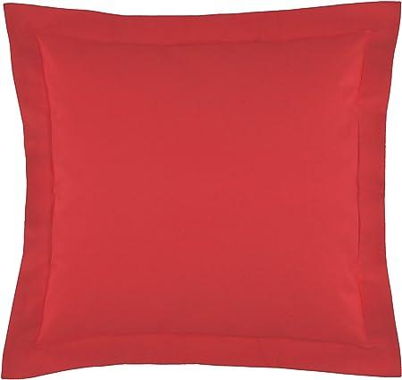 Gabel Cuscini Arredo.Gabel 688 Cuscino Arredamento 100 Cotone Rosso 60x60x18 Cm
